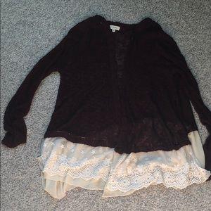 Umgee lace sweater